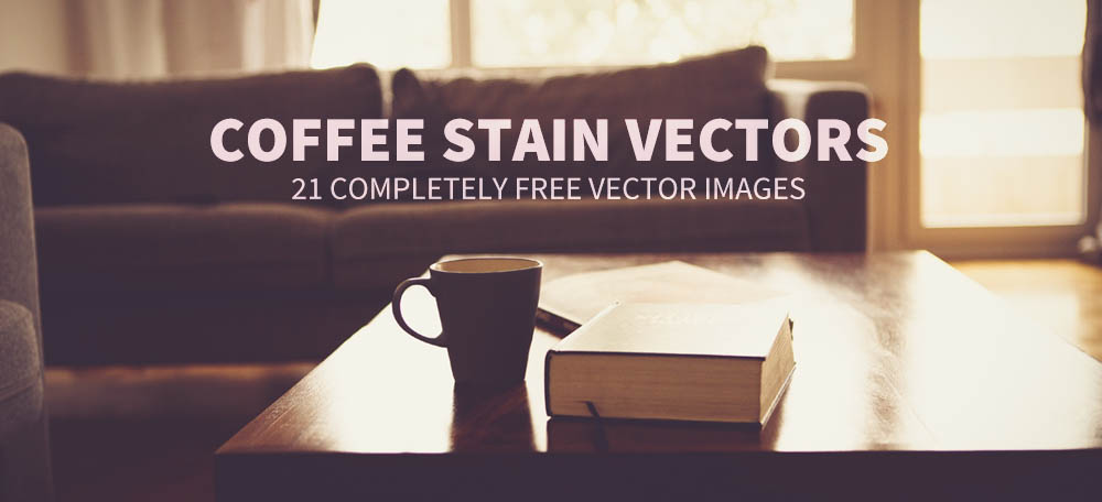 21 Complete Free Coffee Stain Vector Images